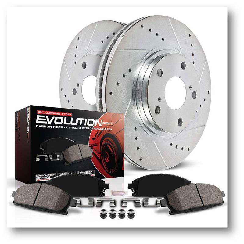 Power Stop brake pad kit