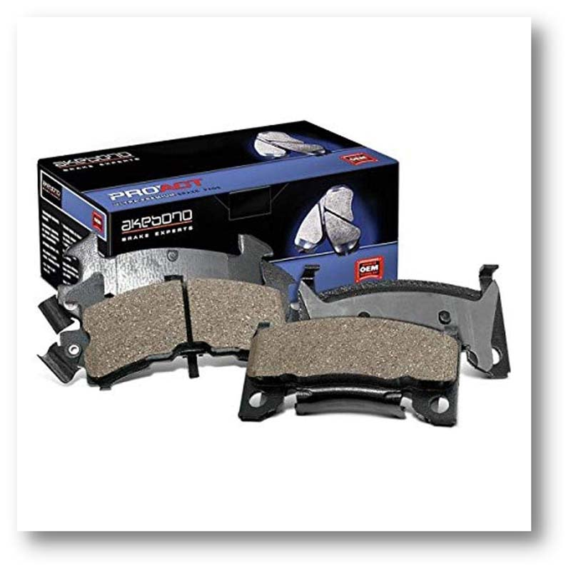 Ultra-Premium Ceramic Brake Pads