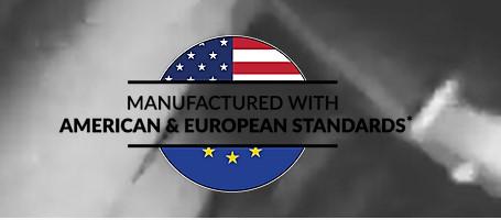 manufactureredwithamericanandeuropeanstandards